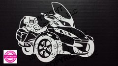 Can Am Spyder RT Vehicle Decal Sticker