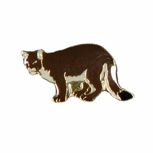 Cougar Wildlife Animal Metal Lapel Pin Badge Shopping