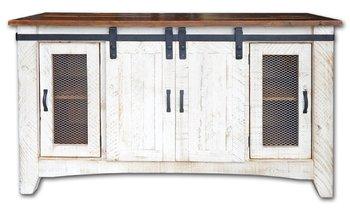 Barn Door Tv Stand Tv Console Dresser Rustic