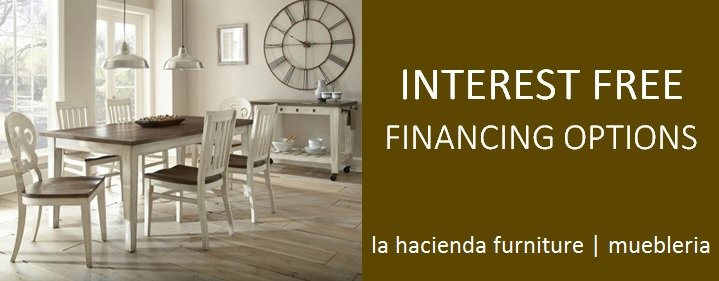 Financing Options La Hacienda Furniture Store