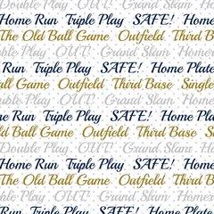 Baseball Digitally Printed - Pattern 13