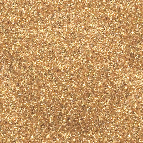 OLD GOLD Heat Transfer Vinyl GLITTER Sheets