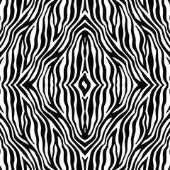 Zebra Pattern Digitally Printed - Choose Color