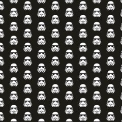 Character Pattern Digitally Printed - Star Wars Inspired