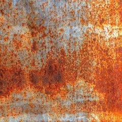 Rusted Metal Print - Pattern 2