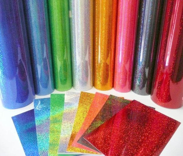 Silver - Fantasy Films Outdoor Glitter Adhesive Vinyl