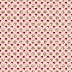 Faux Glitter Pattern Digitally Printed