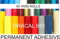"12"" ORACAL 651 Vinyl...50 Yard Roll"