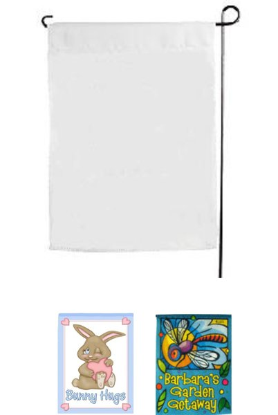 Sublimation Single Ply Garden Flags