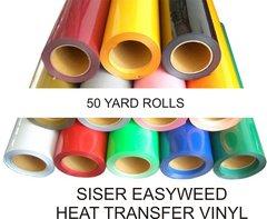 SISER EasyWeed HEAT TRANSFER VINYL 50 YARD ROLL