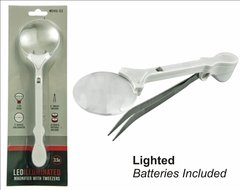 LEDTweezers with Magnifying Glass