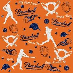 Baseball Digitally Printed - Pattern 8