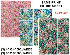 GANG SHEET Lilly Pultizer Inspired Prints