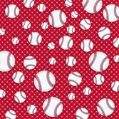 Baseball Digitally Printed - Pattern 1