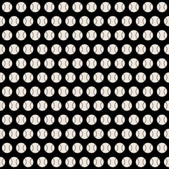 Softball Digitally Printed - Pattern 10