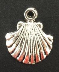 Sea Shell Charm Tibetan Silver Metal