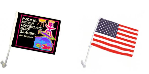 Sublimation Car Flags with Pole