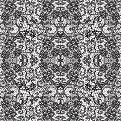 Lace Pattern Digitally Printed