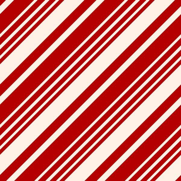 Candy Cane Christmas Pattern Sticky Fingers Vinyl Craft