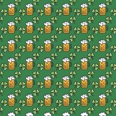 St. Patricks Day Patterns Digitally Printed