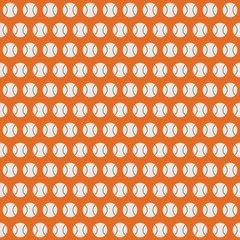 Baseball Digitally Printed - Pattern 9