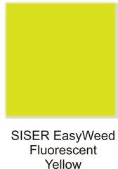 SISER EasyWeed Fluorescent Yellow HEAT TRANSFER VINYL SHEET