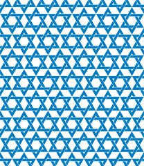 Hanukkah Patterns Digitally Printed