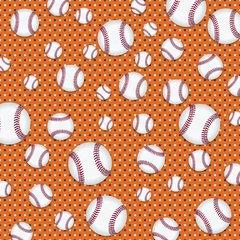 Baseball Digitally Printed - Pattern 7