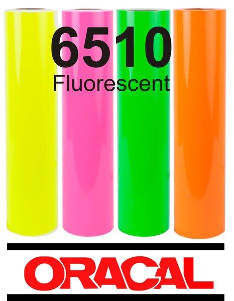 Oracal 6510 Fluorescent Green Adhesive Outdoor Vinyl