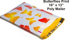 """Butterfly Print Poly Mailers 10"""" x 13"""""""