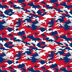 Army - Sports Camo Pattern Digitally Printed
