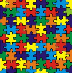 Autism Awareness Puzzle Print