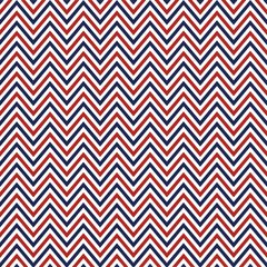 Patriotic Patterns Digitally Printed