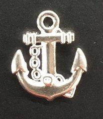 Anchor with Chains Charm Tibetan Silver Metal