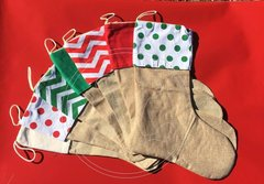 BURLAP STOCKINGS Blanks