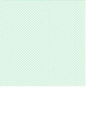 Mint Green Background with White Polka Dot Print
