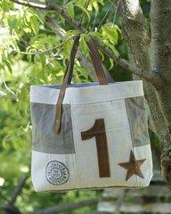 Star Canvas Tote Bag