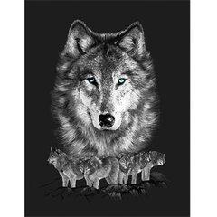 Grey Wolf Pack G145 LPB King Blanket