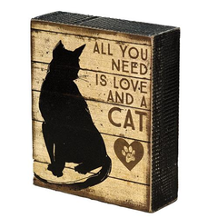 And a Cat Box Sign
