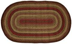 Cinnamon Oval Rug, 3x5