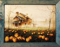 """""""October Gray"""" Wall Art"""