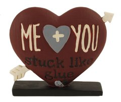 'ME AND YOU' HEART ON BASE