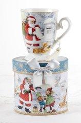 """4.6"""" Porcelain Mug in Box, Santa"""