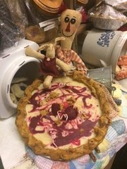 "6"" Strawberry Cheesecake Pie - Soy Candle"