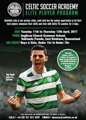 SOLD OUT Celtic FC Elite Player Program - Brisbane 2017