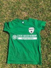 Impact Soccer Celtic Soccer Academy Camp Shirt