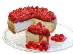 "Chocolate Cherry Cheesecake - 7"" Size (Serves 6-8)"