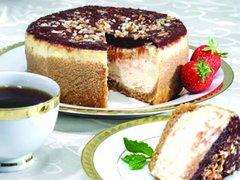 "Turtle Praline Cheesecake - 9"" Size (Serves 8-10)"