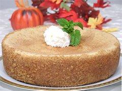 "Pumpkin Cheesecake - 9"" Size (Serves 8-10)"