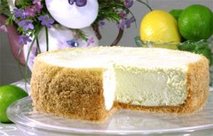 "Key Lime Cheesecake - 7"" Size (Serves 6-8)"